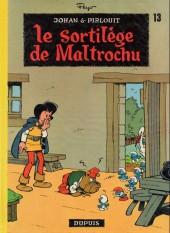 Johan et Pirlouit -13a76- Le sortilège de Maltrochu