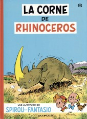 Spirou et Fantasio -6f91- La corne de rhinocéros