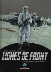 Lignes de front (Pécau) -8- Enfer blanc sur Leningrad