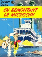 Lucky Luke -16b81- En remontant le Mississipi
