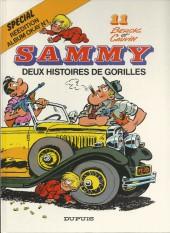 Sammy -11a1991- Deux histoires de gorilles