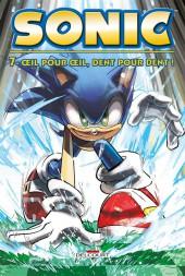 Sonic (Delcourt) -7- Œil pour œil, dent pour dent !