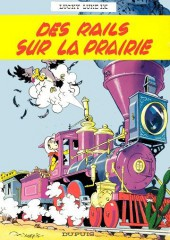 Lucky Luke -9b77- Des rails sur la prairie