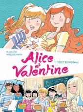 Alice et Valentine -1- L'effet boomerang