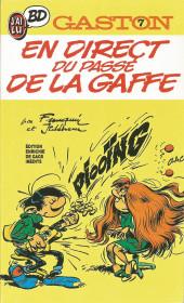 Gaston (Poche) -7- En direct du passé de LaGaffe