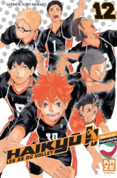 Haikyu !! Les As du Volley -12- Tome 12