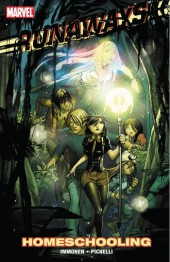 Couverture de Runaways (2008) -INT11a- Homeschooling