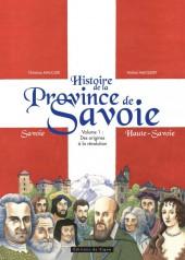 Histoire de la province de Savoie -1- Des origines à la révolution