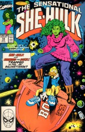Sensational She-Hulk (The) (1989) -14- A Baloney Place Of Dying!