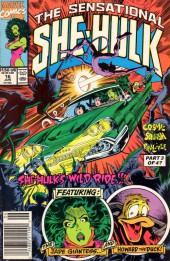 Sensational She-Hulk (The) (1989) -16- The Lowbrow Hunters