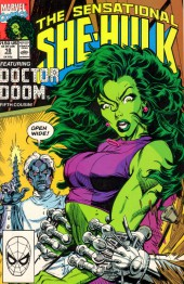 Sensational She-Hulk (The) (1989) -18- The Dentist In The Iron Mask!