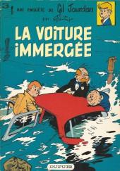 Gil Jourdan -3b1979- La voiture immergée