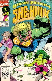 Sensational She-Hulk (The) (1989) -21- Atomic Secrets!