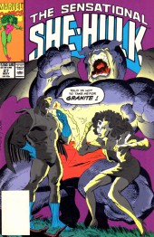 Sensational She-Hulk (The) (1989) -27- Game, Set And Match