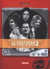 Le panthéon des stars du rock -2- Le Panthéon des stars du rock - Années 80/2000