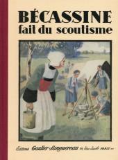 Bécassine -17f2015- Bécassine fait du scoutisme