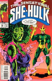 Sensational She-Hulk (The) (1989) -58- Shock The Shulkie