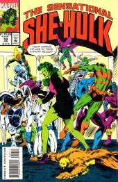Sensational She-Hulk (The) (1989) -59- Disorder In The Court