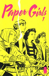 Paper Girls (Image comics - 2015) -1- Paper Girls