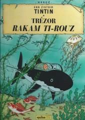Tintin (en langues régionales) -12Mauricien- Trézor rakam ti-rouz