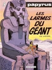 Papyrus -9a93- Les larmes du géant