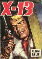 X-13 agent secret -Rec76- Collection reliée N°76 (du n°436 au n°439)