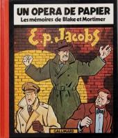 (AUT) Jacobs, Edgar P. -3a90- Un opéra de papier - Les mémoires de Blake et Mortimer