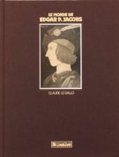 (AUT) Jacobs, Edgar P. -4TT- Le Monde de Edgar P. Jacobs