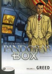 Pandora's Box (en anglais) -4- Greed