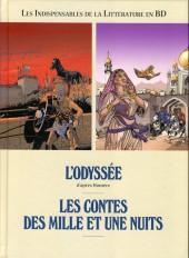Les indispensables de la Littérature en BD -FL11- L'Odyssée / Les Contes des mille et une nuits