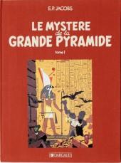Blake et Mortimer (Historique) -3TL3- Le Mystère de la Grande Pyramide - Tome 1