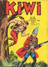 Kiwi -138- Prisonniers du wigwan rouge