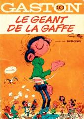 Gaston -10Redoute- Le géant de la gaffe