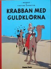Tintin (en langues étrangères) -9Suédois- Krabban med guldklorna