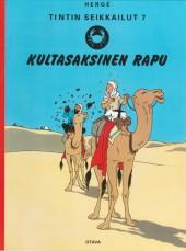 Tintin (en langues étrangères) -9Finlandais- Kultasaksinen rapu