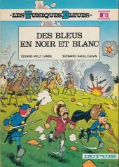 Les tuniques Bleues -11a1977- Des bleus en noir et blanc