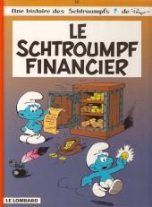 Les schtroumpfs -16b2001- Le Schtroumpf financier