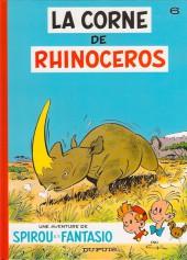 Spirou et Fantasio -6c2002- La corne de rhinocéros