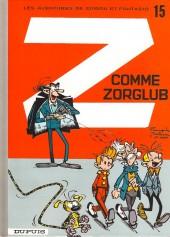 Spirou et Fantasio -15g02- Z comme Zorglub