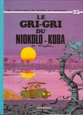 Spirou et Fantasio -25f05- Le gri-gri du Niokolo-Koba