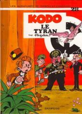 Spirou et Fantasio -28e00a- Kodo le tyran