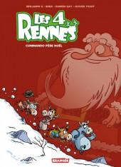 Les 4 Rennes -1- Commando Père Noël