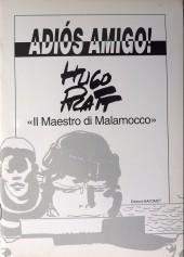 (AUT) Pratt, Hugo (en italien) -CAT- Adios amigo !