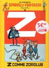Spirou et Fantasio -15Ouest Fr.- Z comme Zorglub