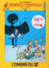 Spirou et Fantasio -16Ouest Fr.- L'Ombre du Z