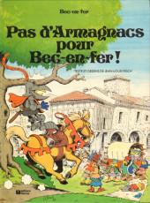 Bec-en-fer (1re série) -2- Pas d'Armagnacs pour Bec-en-fer !