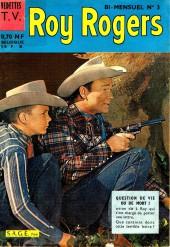 Roy Rogers, le roi des cow-boys (3e série - vedettes T.V) -3- Question de vie ou de mort