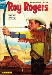 Roy Rogers, le roi des cow-boys (3e série - vedettes T.V) -10- Numéro 10