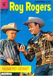 Roy Rogers, le roi des cow-boys (3e série - vedettes T.V) -42- Numéro 42