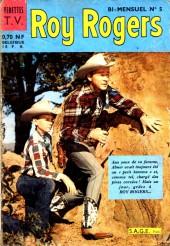 Roy Rogers, le roi des cow-boys (3e série - vedettes T.V) -5- Numéro 5